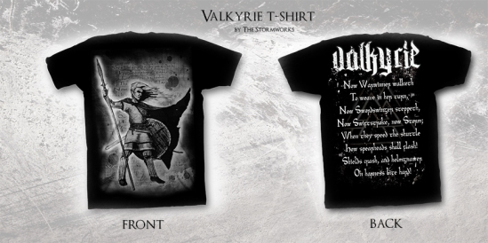 Valkyrie T-Shirt by The Stormworks